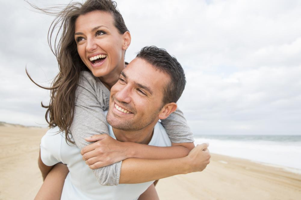 couple smiling | second opinions dental care harleysville pa