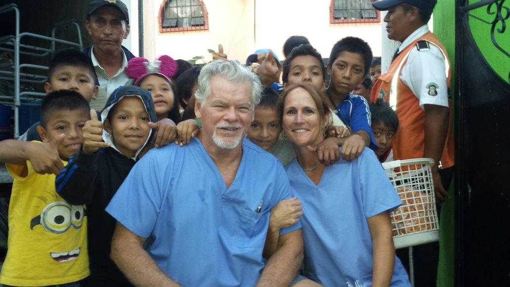 Dr. McMaugh on mission trip