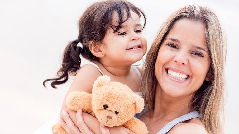 Woman with Daughter | Children's Dentistry Harleysville PA